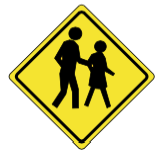 45_pedestrian_crossing_ahead