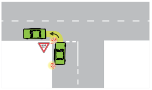 14-correct-lateral-position-left-turn